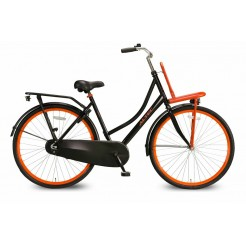 Altec Classic Transportfiets 28 inch 55cm Black/Orange