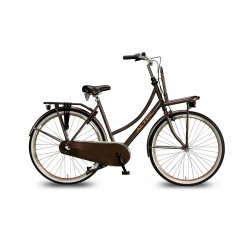 Altec Dutch 28 inch Limited Edition Transportfiets Mat Brown 55 cm 2018
