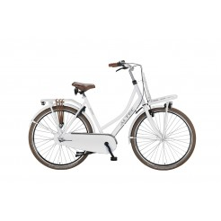 Altec Dutch 28 inch Transportfiets Snow White 57 cm