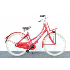 Bike Fun 26LMD100 Love and Peace 26 inch meisjesfiets Rood