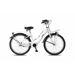 Bike Fun Girls Fun 24 inch meisjesfiets Wit