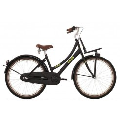 Bike Fun Load 26 inch transportfiets Nexus 3 Matzwart