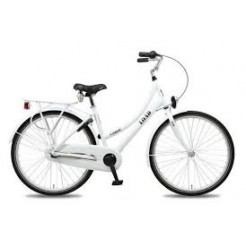 Bike Fun Load 26 inch transportfiets Nexus 3 Wit