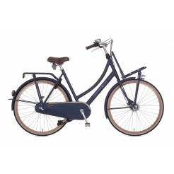Cortina U4 57cm 28 inch transportfiets Denim Blue 3 Speed rollerbrakes