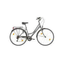 Excel Avenue Lady damesfiets Grey 18SP