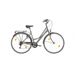 Excel Avenue Lady damesfiets Grey 6SP