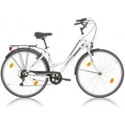Excel Avenue Lady damesfiets White 18SP