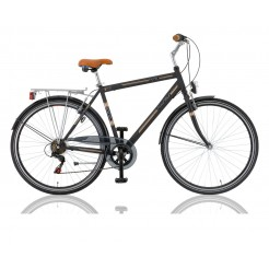 Excel Central Park 28 inch herenfiets Zwart 18SP