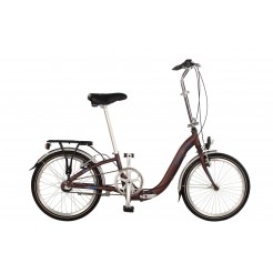 Expert Cambridge 20 inch vouwfiets Mat Bordeaux Shimano Nexus 3SP