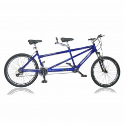 Marlin Discovery 26 inch tandem Blue 24SP Acera