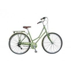 Paris Destiny 28 inch damesfiets Mat Groen 6SP