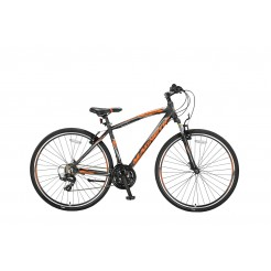 Umit Magnetic Trekking 28 inch herenfiets Black/Orange